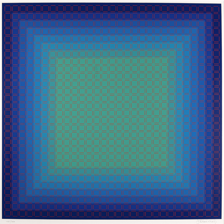 Cool Filtration, 1981, 24x24, Ed. 150
